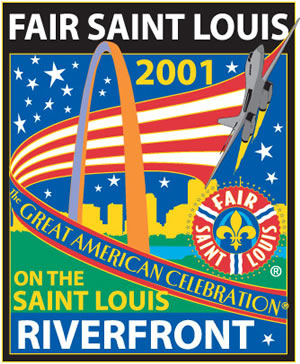 Fair St. Louis 2001 Pin