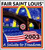 Fair St. Louis 2003 Pin