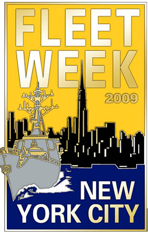 Fleet Week New York Pin