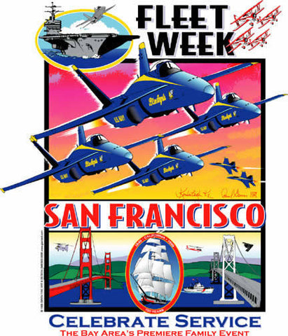 Fleet Week San Francisco 1999 Poster