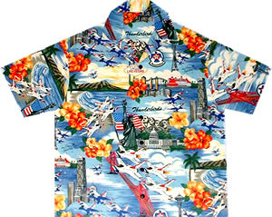 Thunderbird Hawaiian™ Shirts for Women