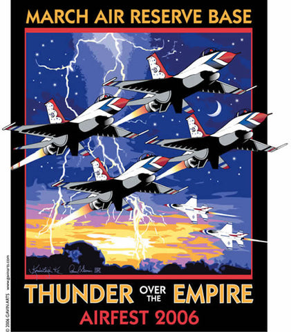 March Air Reserve Base AirFest Poster