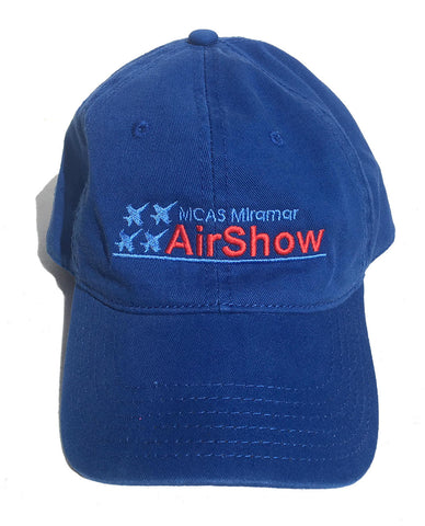 """Miramar Air Show"" Embroidered Royal Blue Hat"