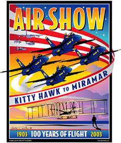 MCAS Miramar Air Show 2003 Pin