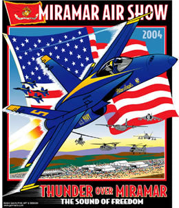 MCAS Miramar Air Show 2004 Pin