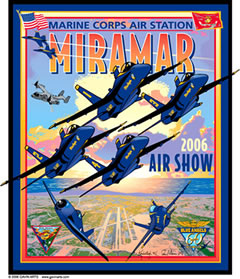 MCAS Miramar Air Show 2006 Pin