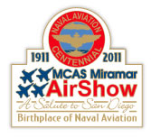 MCAS Miramar Air Show 2011 Pin: Salute to San Diego, the Birthplace of Naval Aviation 1911-2011