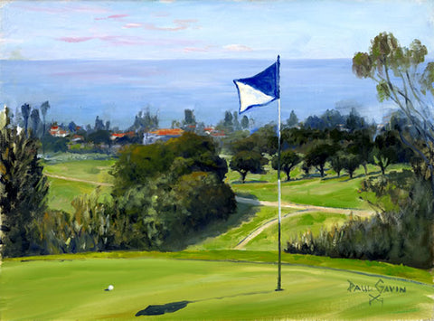 On the Green: 15th Hole, San Clemente Municipal Golf Course