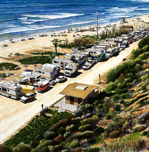 San Onofre: Surfer's Paradise Note Cards