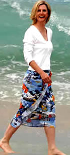 Blue Angel Hawaiian™ Sarongs