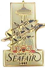 Seattle Seafair 1997 Pin