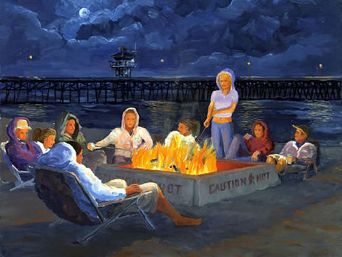 Beach Bonfire: S'more Fun in San Clemente