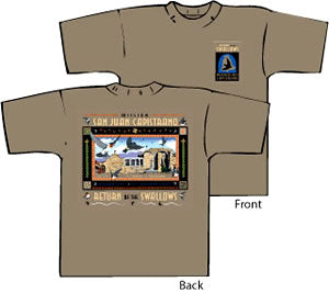 San Juan Capistrano Swallows Day Design 14 T-Shirts and Sweatshirts
