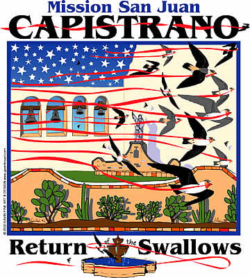 San Juan Capistrano Swallows Day 2002 Poster