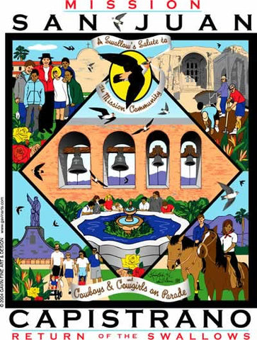 San Juan Capistrano Swallows Day 2004 Poster