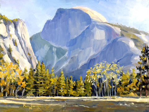 For Tom: Autumn Half Dome