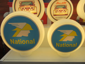 National Petroleum Company Gas Pump Style (3 Sizes Available)