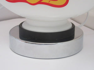 Gas Pump Globe Rubber Seal for Desk Lamp Petrol Pump Globes Vintage Style - Global Collection Uk