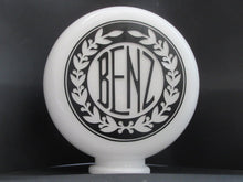 BENZ Gas Pump Globe Wreath in Art Deco Design (2 Sizes Available)