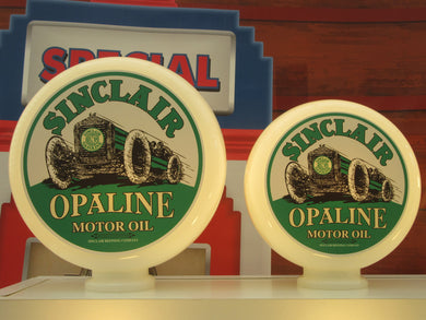 SINCLAIR Opaline Gas Pump Globes (2 Sizes Available)