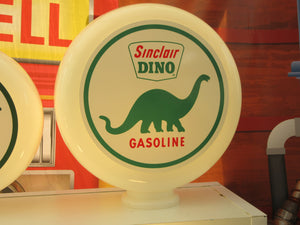SINCLAIR DINO Gas Pump Globe (2 Sizes Available)