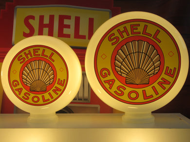 SHELL GASOLINE Gas Pump Globe (2 Sizes Available)