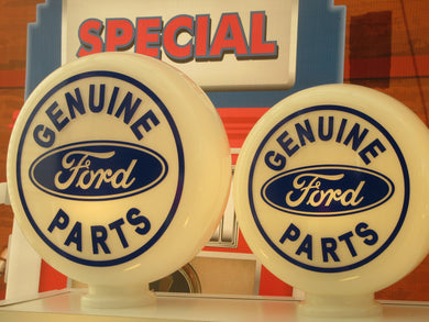 FORD Genuine Parts Gas Pump Globe CAD Cut . (3 sizes Available)