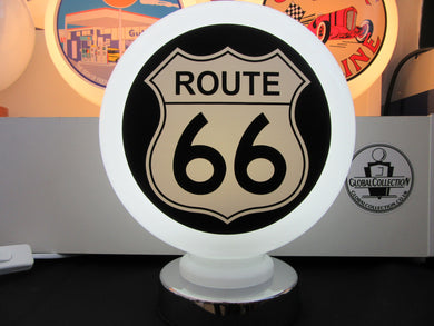 Route 66 Gas Pump Globe