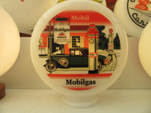 MOBILGAS Art Deco Style Gas Pump Globe Vintage Retro Gas Station