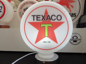 TEXACO Star Petrol Pump Globe (2 Sizes Available)