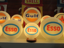 ESSO Gas Pump Globe, Retro Gas Pump Globes .             (3 Sizes Available)
