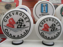 Chevrolet Corvette Retro Gas Pump Globe Muscle Car Style .       (2 Sizes Available)