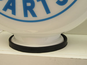 Lamp Base Gas Pump Globe Rubber Seals for Petrol Pump Globes ( 2 Sizes Available)