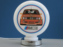BMW E30 M3 Racing Series Tribute Gas Pump Globes