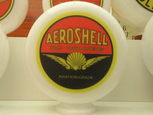 Shell Aviation Style AEROSHELL Gas Pump Globe Huile Pour Moteurs Black/Red