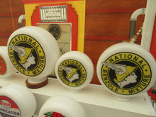 National Benzole Mixture Gas Pump Globe, Retro Gas Pump Globes .             (3 Sizes Available)