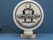 Lamp Bases for Retro Gas Pump Globes - Chrome Electric Base for Petrol Globes     ( 2 Sizes Available)