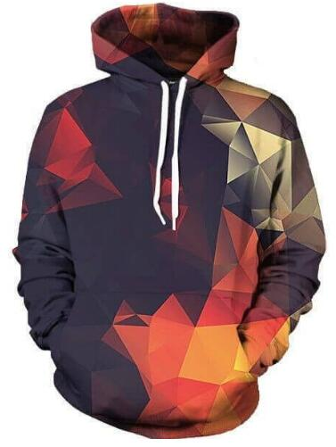 Abstract Unisex Hoodie