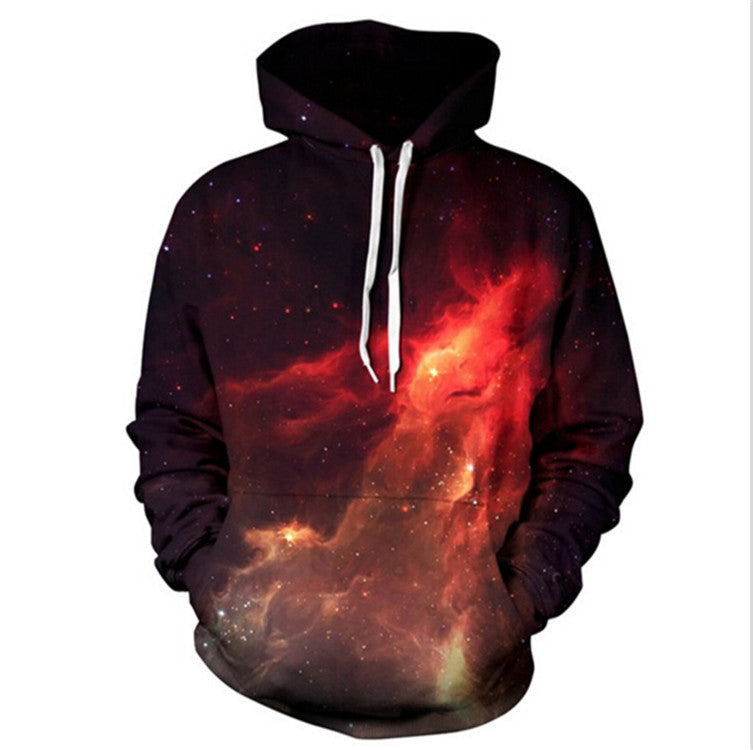 Red Interstellar Unisex Hoodie