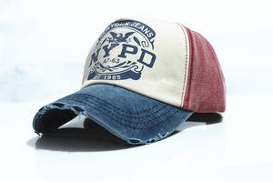 Denim NYPD Cap
