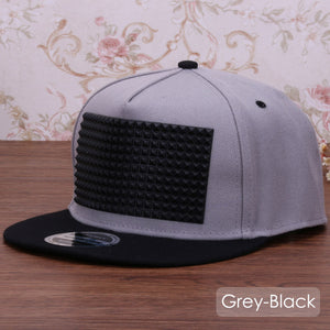Raised Square 3D Snapback