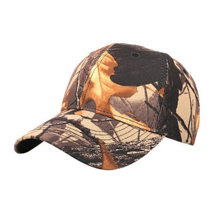 Wood Hunting Cap