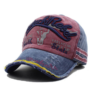 Rebel Vintage Denim Classic Caps