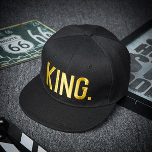 King And Queen Snapback Hats