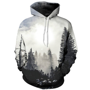 Foggy Forest Unisex Hoodie