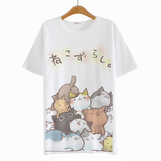 Summer Harajuku Japanese T-Shirt