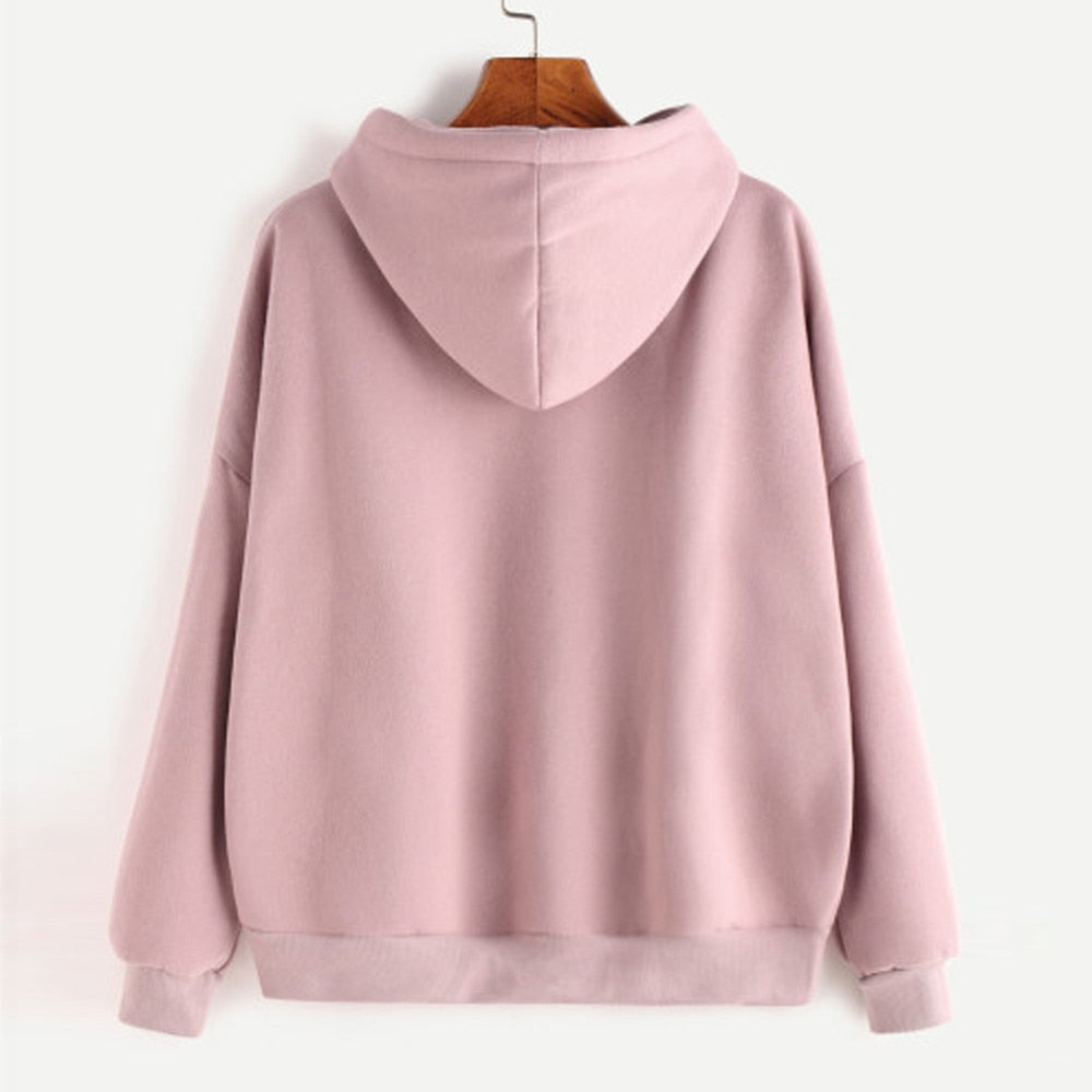 Autumn Women's Casual Hooded Pullover