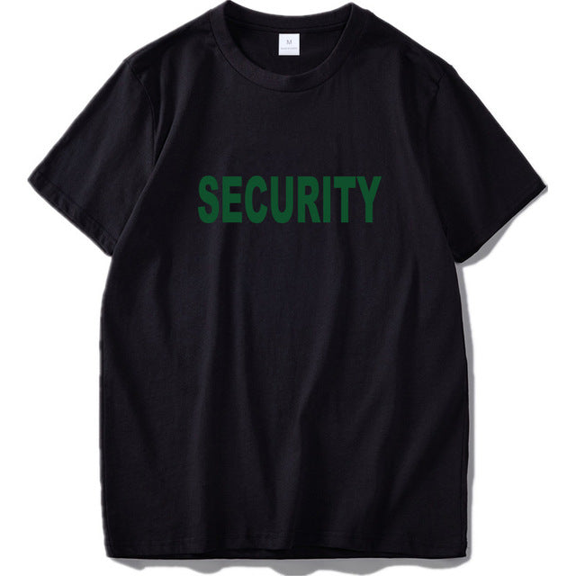 SECURITY 100% Cotton Novelty T-Shirt