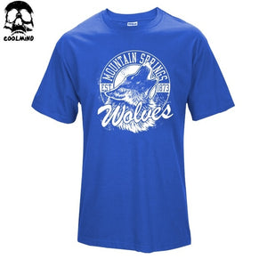 Mountain Springs Wolves - 100% Cotton T-Shirt