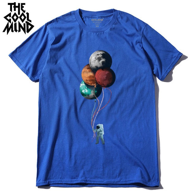 Balloon Planets - 100% cotton T-Shirt